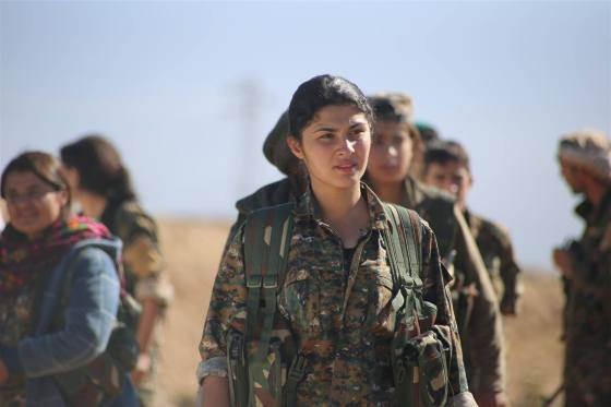 Anti-ISIS Yazidi militia. (Image source: WikiCommons)
