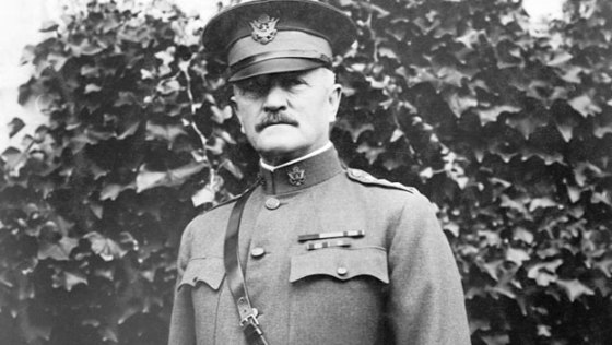 AEF commander, General John Pershing, urgently needed English-speaking telephone operators for his headquarters. He had more than 200 brought in from the U.S. (Image source: WikiCommons)