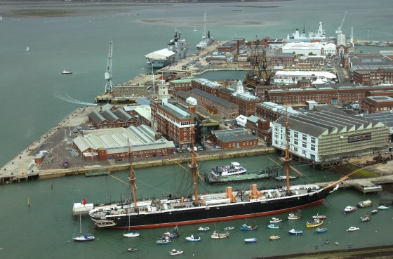 Portsmouth Historic Dockyard will play host to a landmark exhibit on the Battle of Jutland. (Image source: WikiCommons)