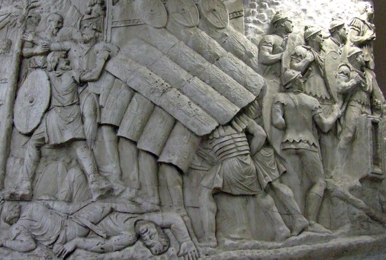 Rome celebrated its triumph over the once-thriving Dacian civilization. Yet 20 years prior, the Dacians crushed two entire Roman legions at the Battle of Tapae. (Image source: WikiCommons)