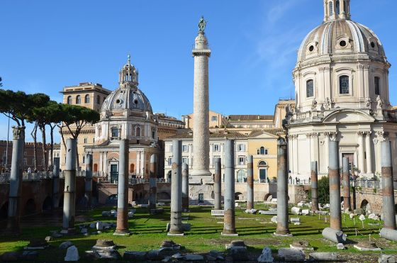 Trajan's Column. (Image source: WikiCommons)
