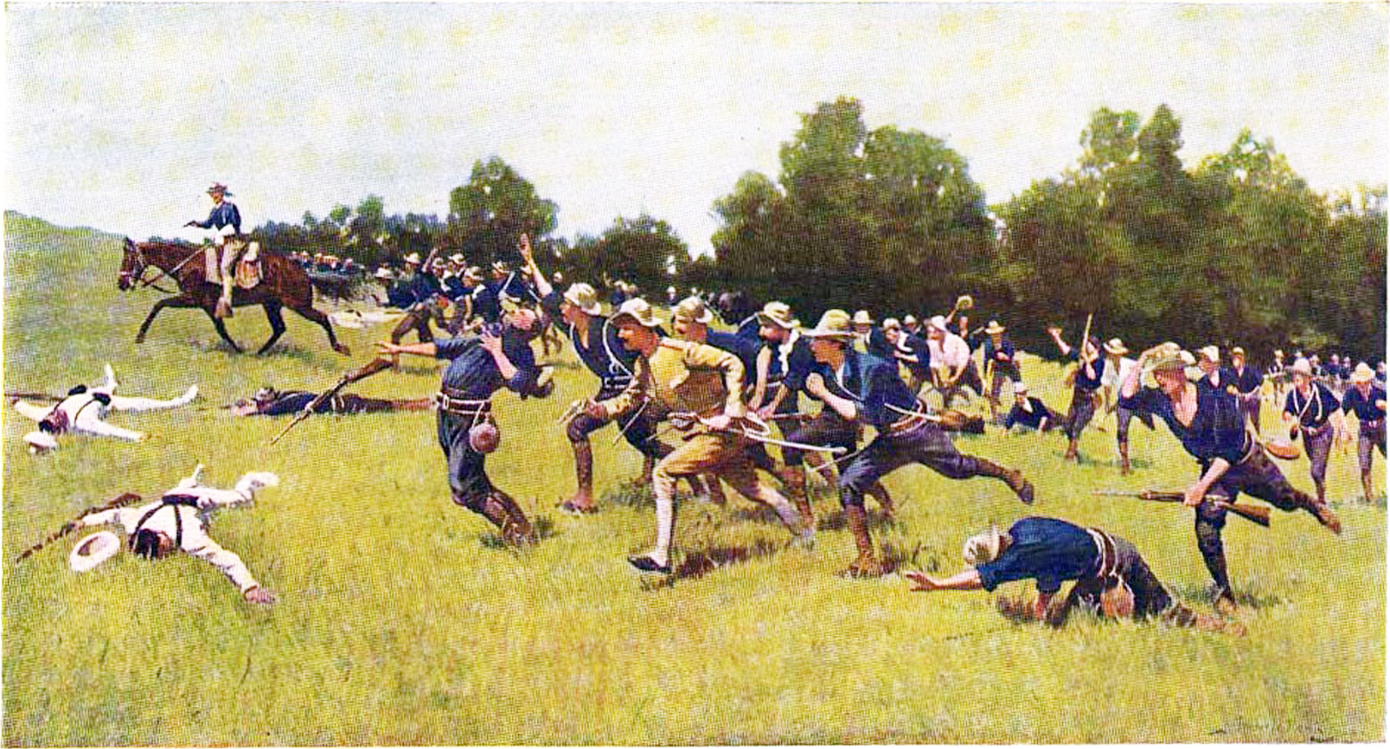 rough riders soldiers names