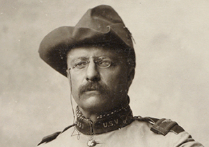Colonel Theodore Roosevelt. (Image source: WikCommons)