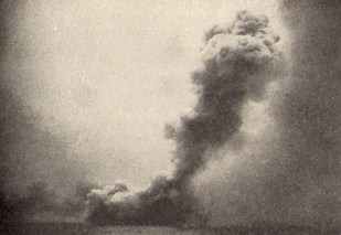 More than 1,200 men's lives ended in the blink of an eye as HMS Queen Mary explodes at Jutland.