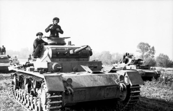 Britain knew the next war in Europe was going to be dominated by the tank. (Image source: WikiCommons)