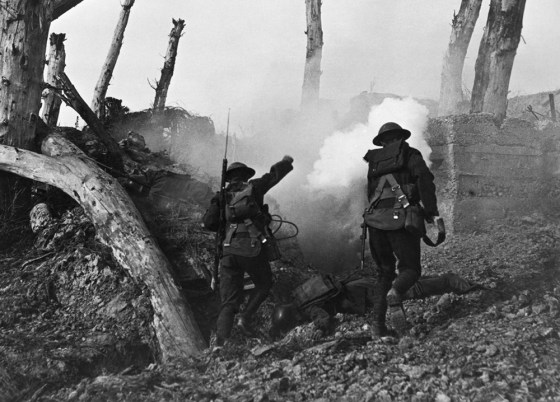 U.S. troops press the attack in the war's final hours. (Image source: WikiCommons)