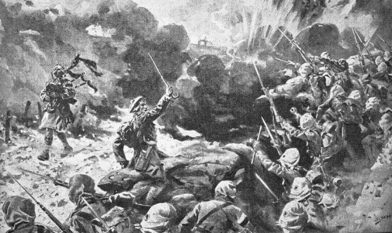 A dramatization of piper Daniel Laidlaw's heroism at the Battle of Loos.