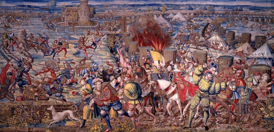 The Battle of Pavia. (Image source: WikiCommons)