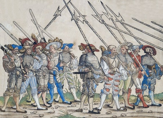 The Mercenary business was a booming industry in 15th and 16th Century Europe. (Image source: WikiCommons)