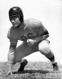 Jack Yoshihara never got a chance to play in the 1942 Rose Bowl. The Japanese American was forbidden to travel after Pearl Harbor and was soon interned. (Image Source: Flikr)