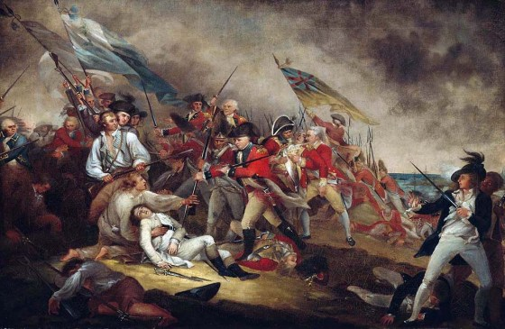 The American War of Independence was more than just a struggle in the New World. England's long-time enemies soon leapt into the fray in hopes of bringing the British Empire to its knees. (Image source: WikiCommons)