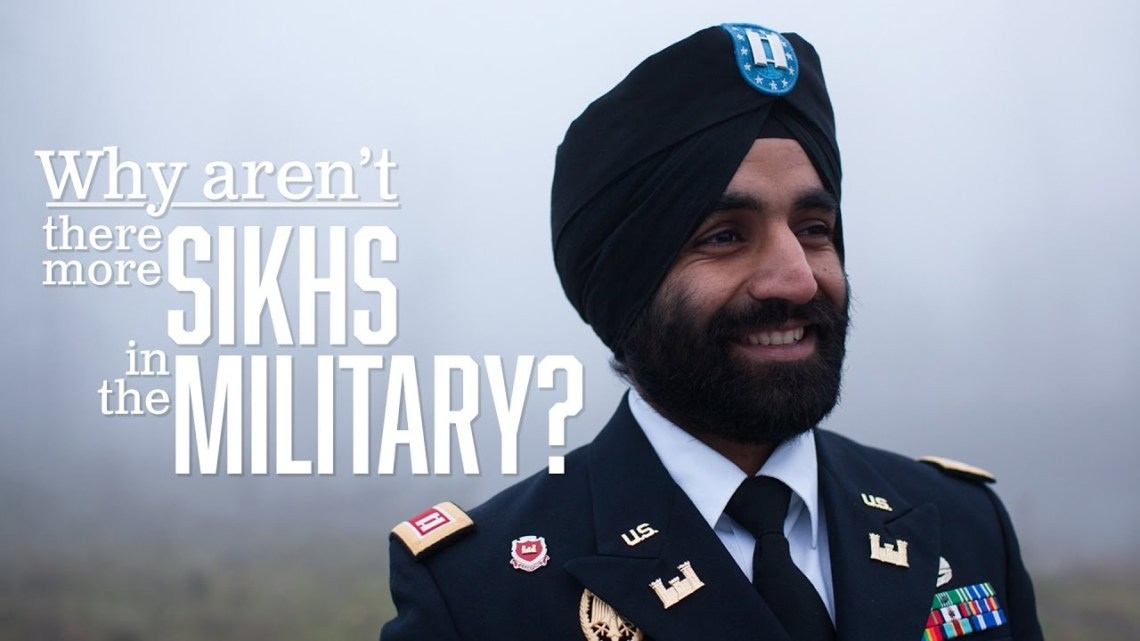 Why there aren't more Sikhs in the U.S. military