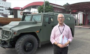 Indo Def 2016: Russian TIGR 4x4 vehicle