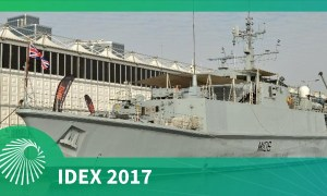 IDEX 2017: Royal Navy's contributions to mine-countermeasures in the Gulf