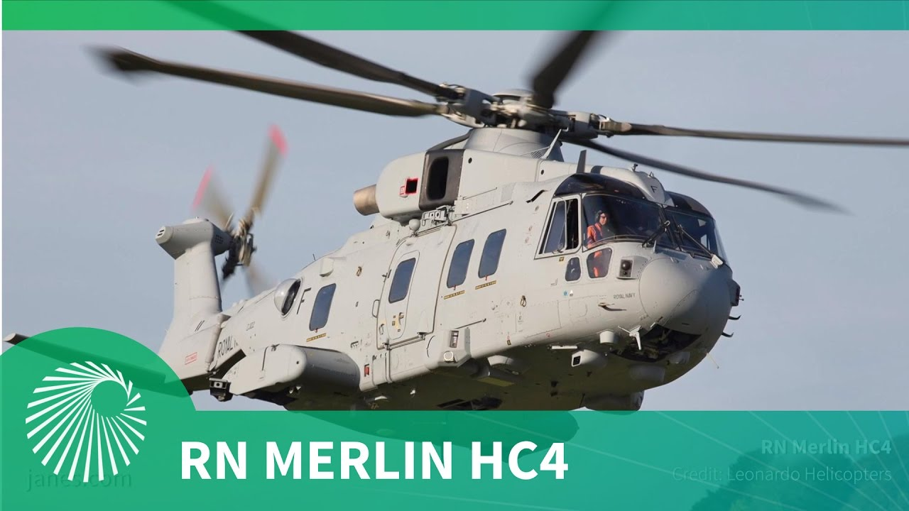 Royal Navy Merlin HC4 Trials and Test Programme