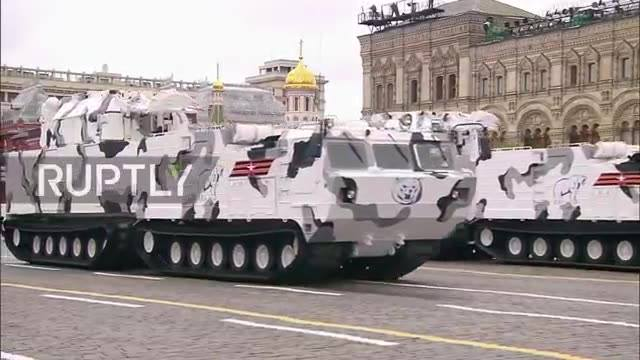 New Arctic Tor and Pantsir air-defence systems