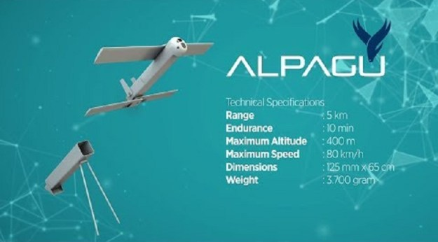 ALPAGU Tactical Attack UAV