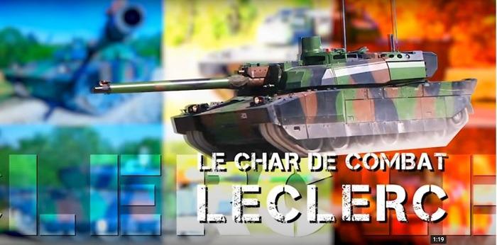 AMX Leclerc Main Battle Tank