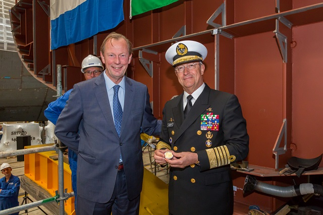 Damen lay the keel for Mexican Navy Sigma 10514
