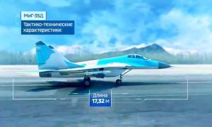 Mikoyan MiG-35D two-seat multirole fighter