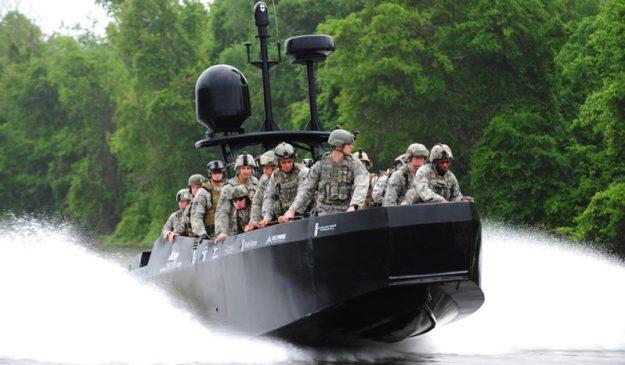 Swiftships Anaconda Special Operations Craft Riverine (SOCR)