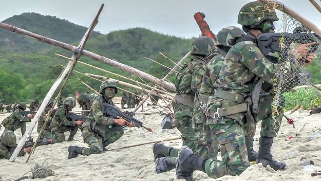 Thailand/US Joint Military Exercise CARAT