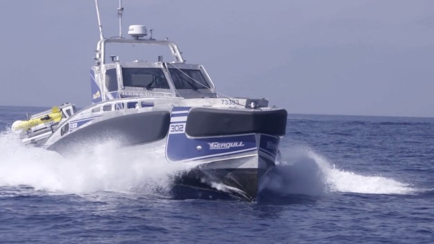 Elbit Systems Seagull Unmanned Surface Vessel (USV)