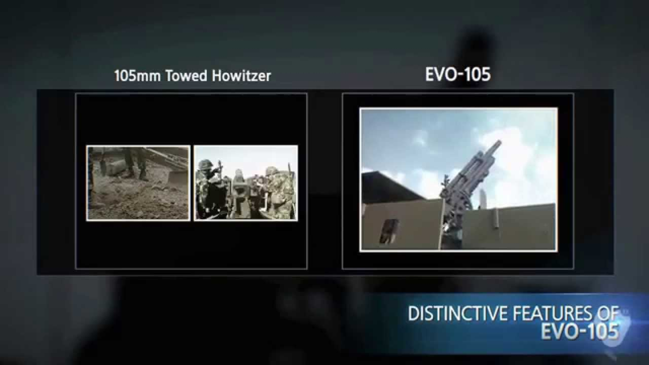 EVO-105 105mm Evolved Wheeled Self-Propelled Howitzer