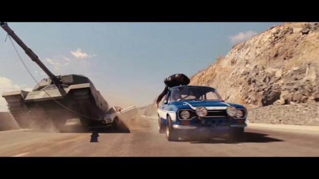 Fast & Furious 6 Tank Car Scene