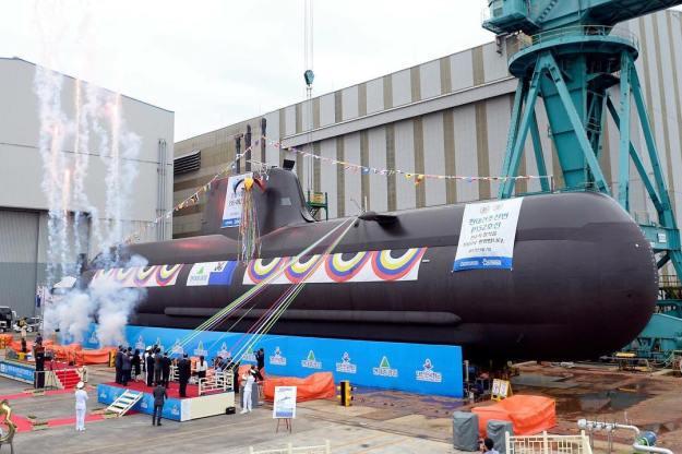 Shin Dolseok (ROKS SS-082) U214 Class Submarine