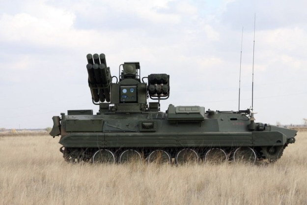 Sosna Short Range Air Defense (SHORAD)