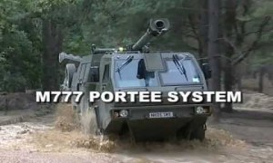 M777 Portee 155 mm Howitzer