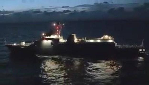Sea Trial KRI Gusti Ngurah Rai Frigates