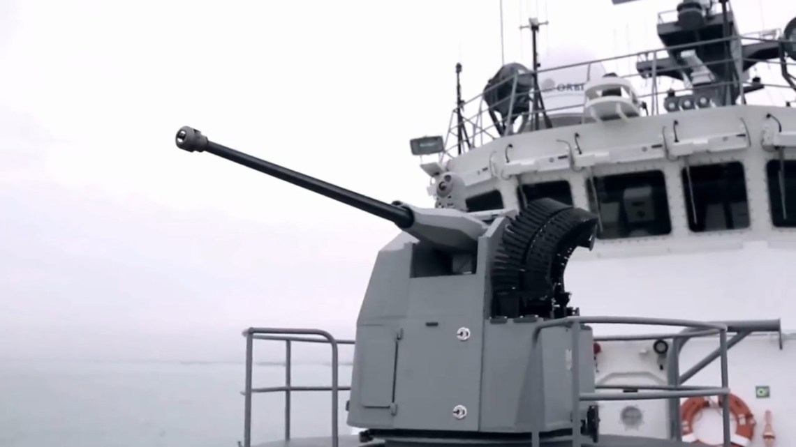 Typhoon Mk-30c Stabilised Naval Gun