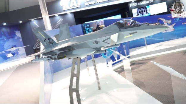 ADEX 2017: Hanwha Systems details KF-X fighter jet avionics