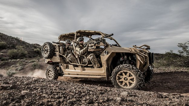 Polaris Defense MRZR 4