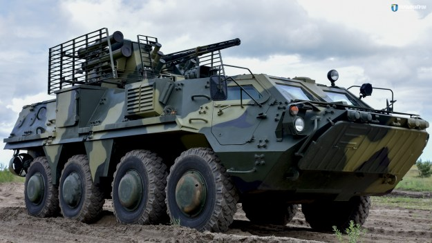 BTR-4MB1 8x8 Armoured Personnel Carrier (APC)