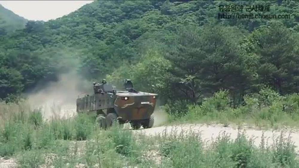 Hyundai Rotem K806 wheeled armoured combat vehicles