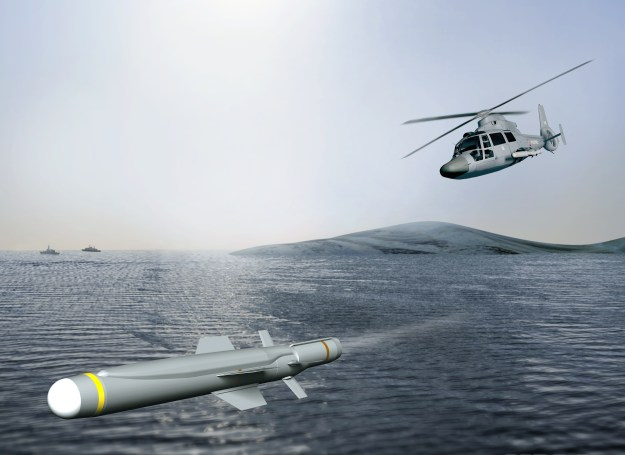 Sea Venom lightweight anti-ship missile
