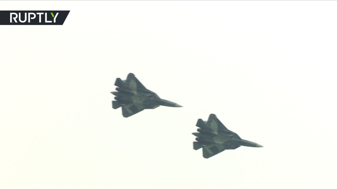 Russia Su-57 Fighter Jet Performs Maiden Flight with New Engine