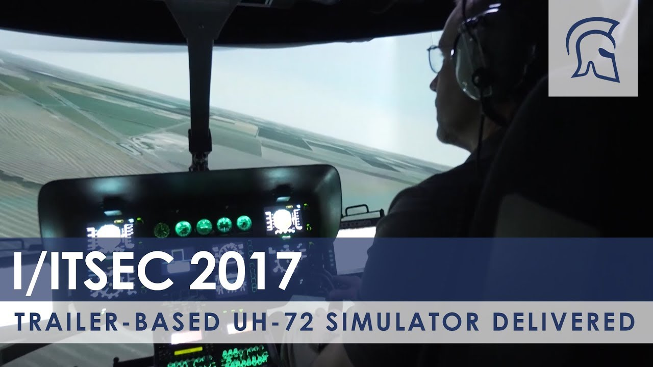 Trailer-based UH-72 Simulator Delivered