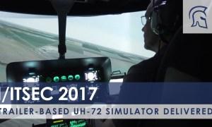 Trailer-based UH-72 Simulator Delivered