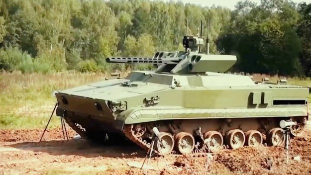 Vikhr (Whirlwind) 30mm Unmanned Combat Ground Vehicle