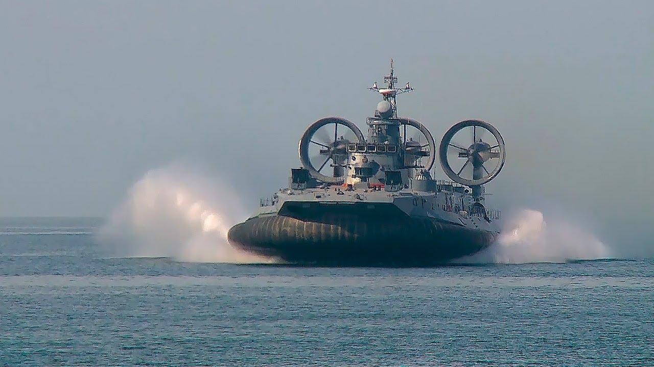 Zubr class air-cushioned landing craft