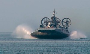 Zubr class air-cushioned landing craft