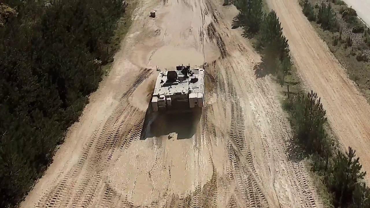Ajax Infantry Fighting Vehicle Field Testing