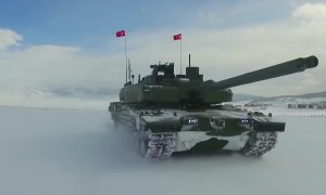 Otokar Altay Main Battle Tanks Field and Snow Testing