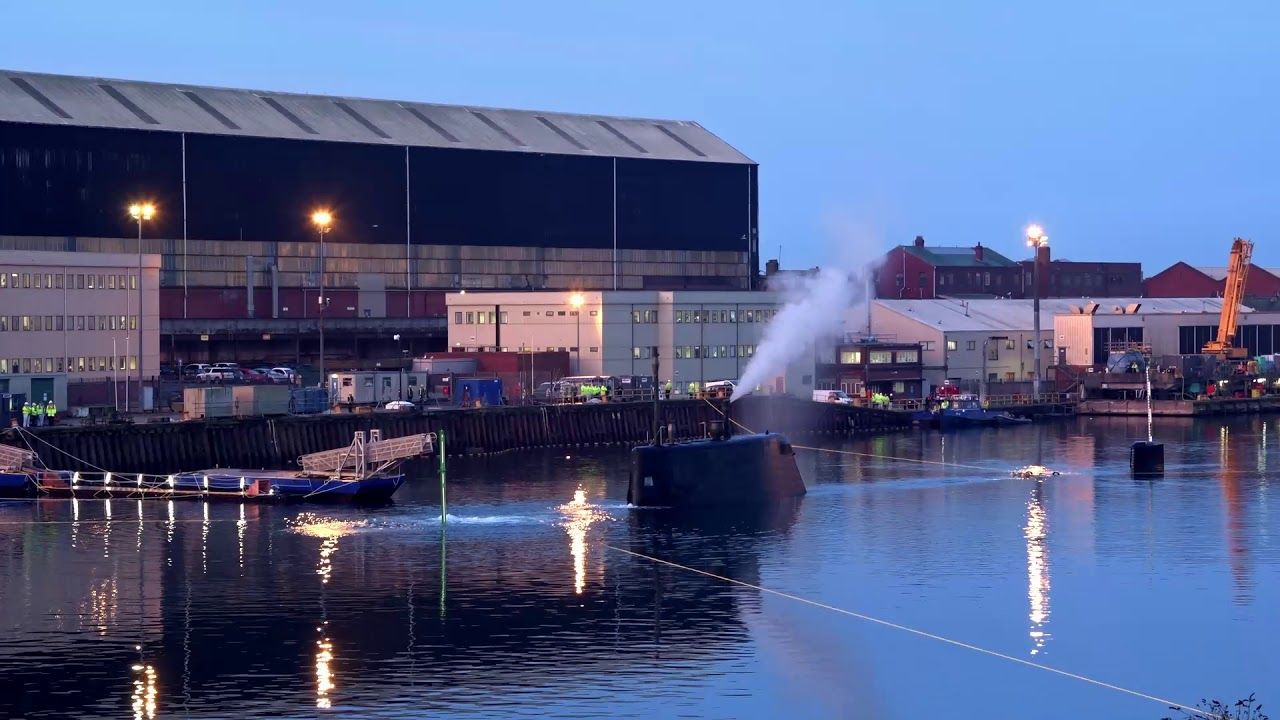 Audacious Astute class submarine completes first dive