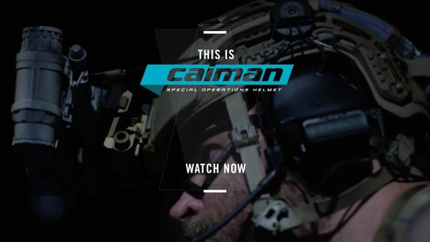 Caiman Special Operations Helmet System