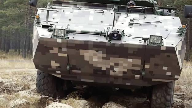 Corsac 8x8 Infantry Fighting Vehicle
